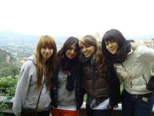 Aylin, Simin, Io, Diana